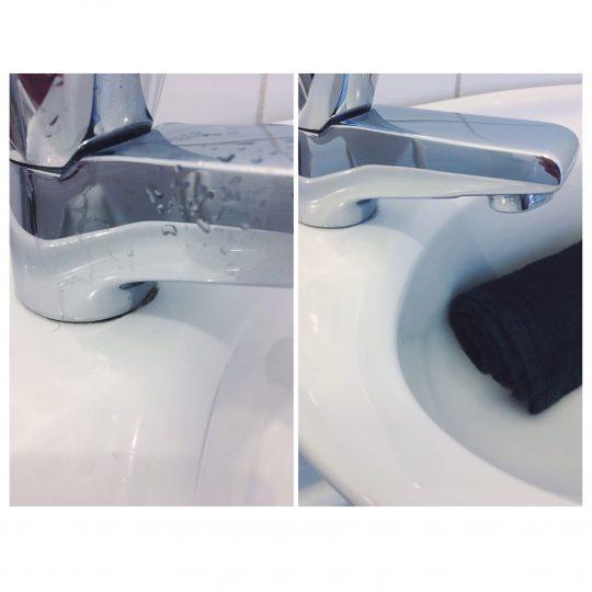 Zakelijk wasbak